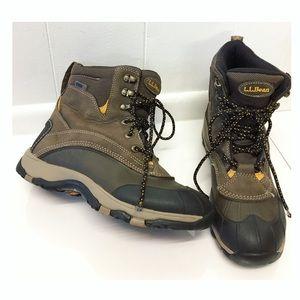 L.L. Bean | Tek Insulted Hiking Boots Dri-Lex Med.